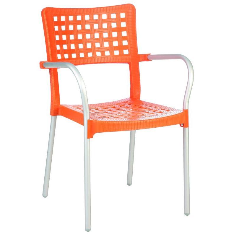 Choose Gala Resin Dining Arm Chair  8 1669