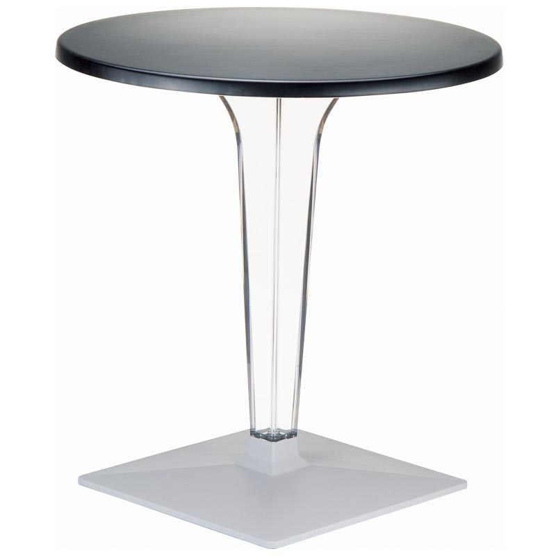 Compamia Ice Werzalit 32 Inch Round Dining Table With