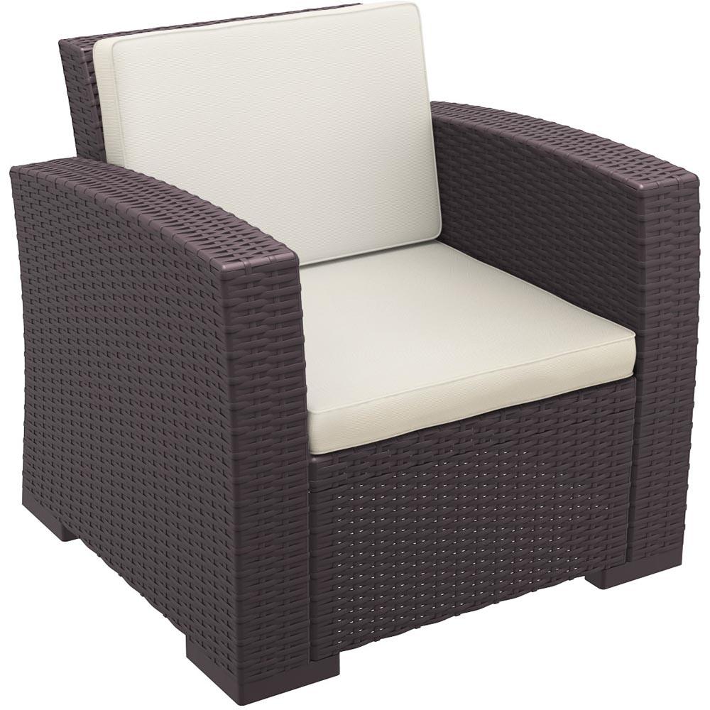 Choose Monaco Resin Patio Club Chair Cushion 10 2475