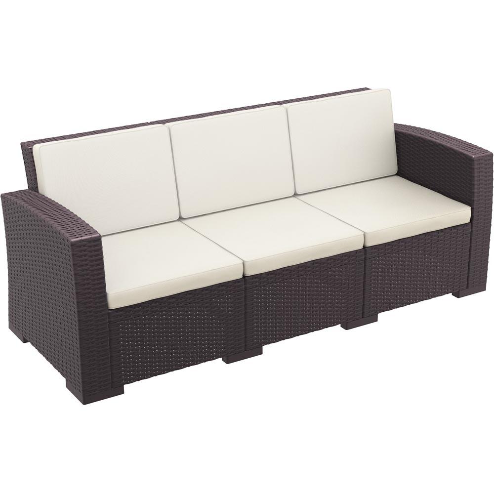Excellent Monaco Resin Patio Sofa Cushion 19 595