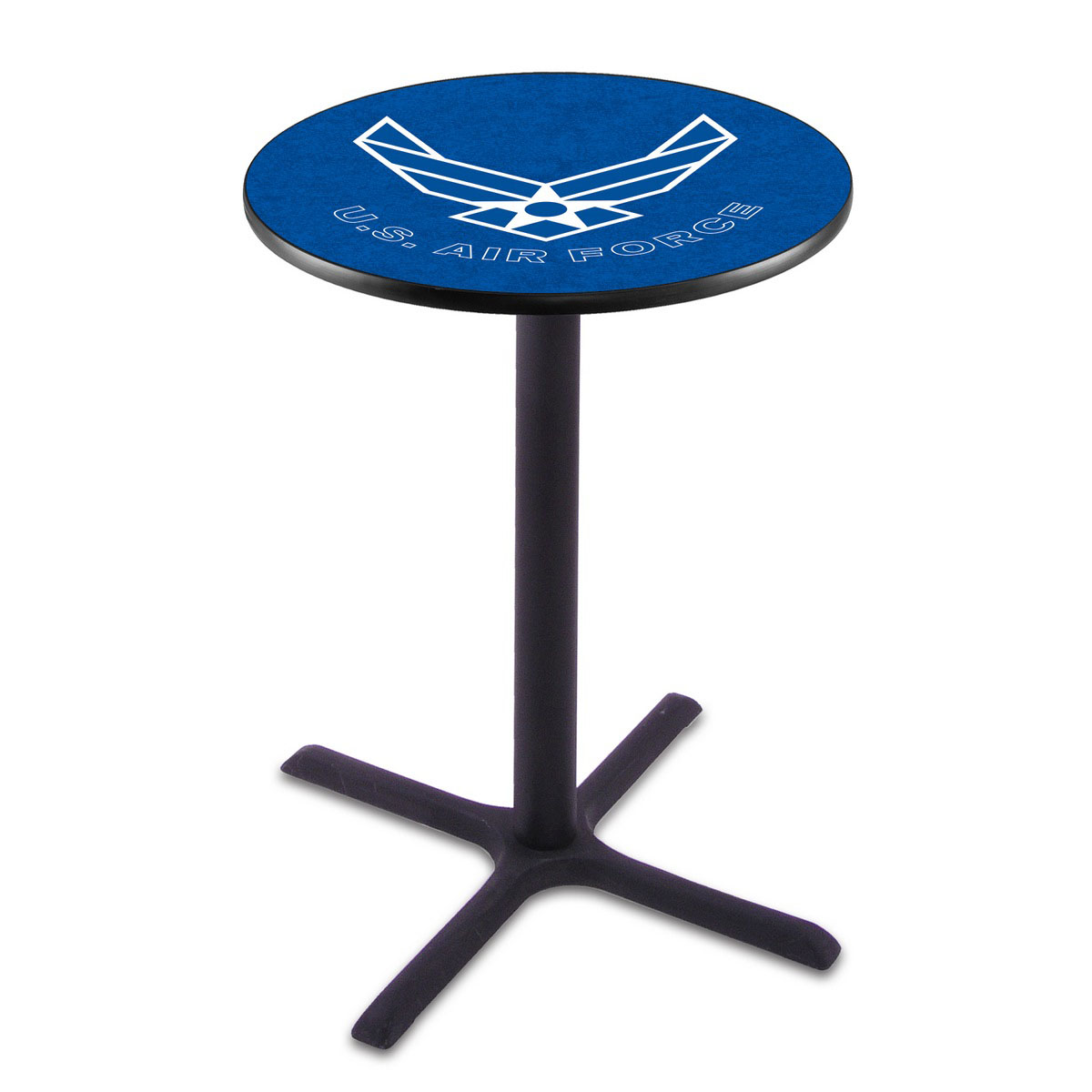 Check out the U Air Force Wrinkle Pub Table Product Photo
