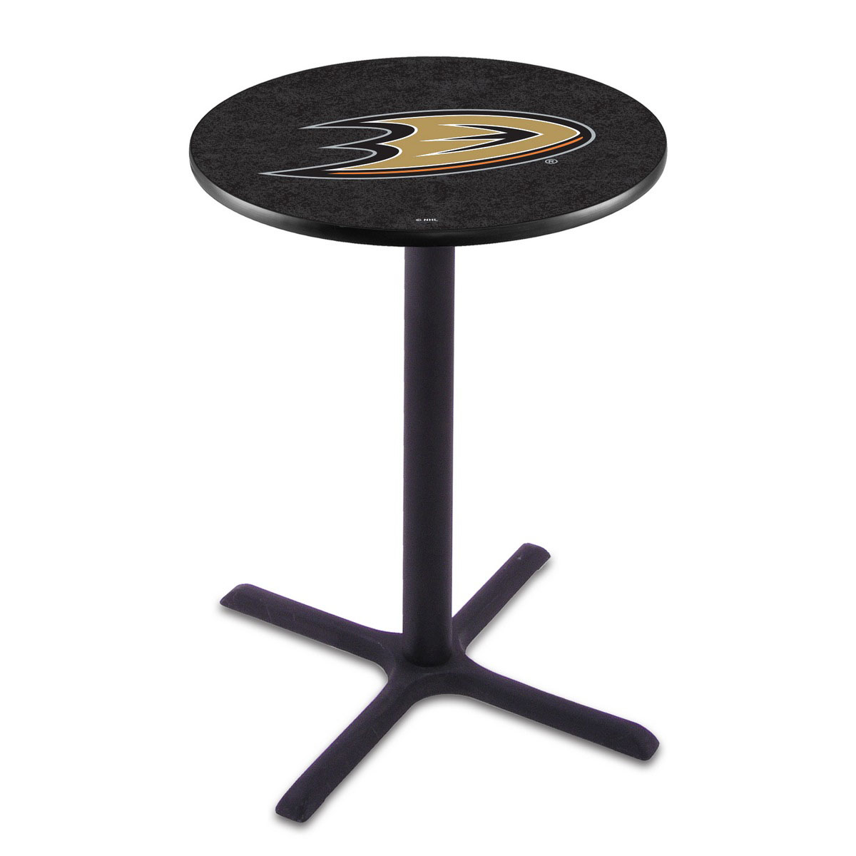 Pretty Anaheim Ducks Wrinkle Pub Table Product Photo
