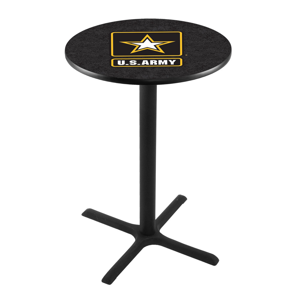 Optimal U Army Wrinkle Pub Table Product Photo