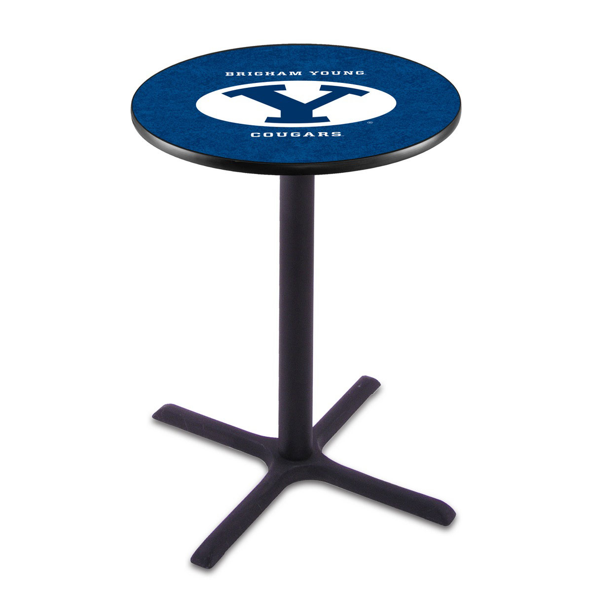 Info about Brigham Young Wrinkle Pub Table Product Photo