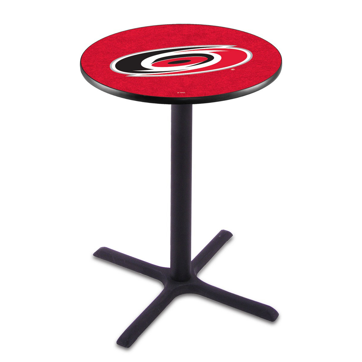 Ultimate Carolina Hurricanes Wrinkle Pub Table Product Photo