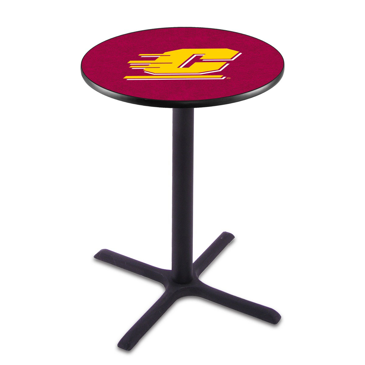 Learn more about Central Michigan Wrinkle Pub Table Product Photo
