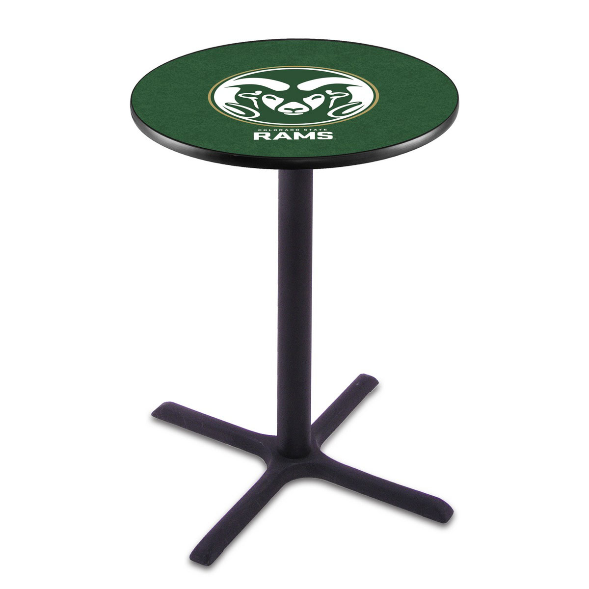 Affordable Colorado State Wrinkle Pub Table Product Photo