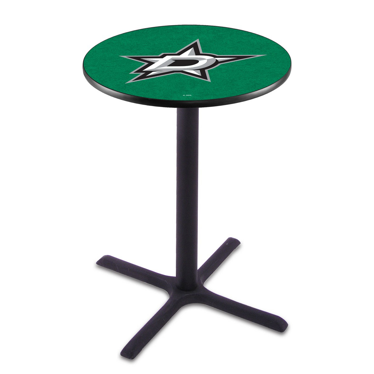 Amazing Dallas Stars Wrinkle Pub Table Product Photo