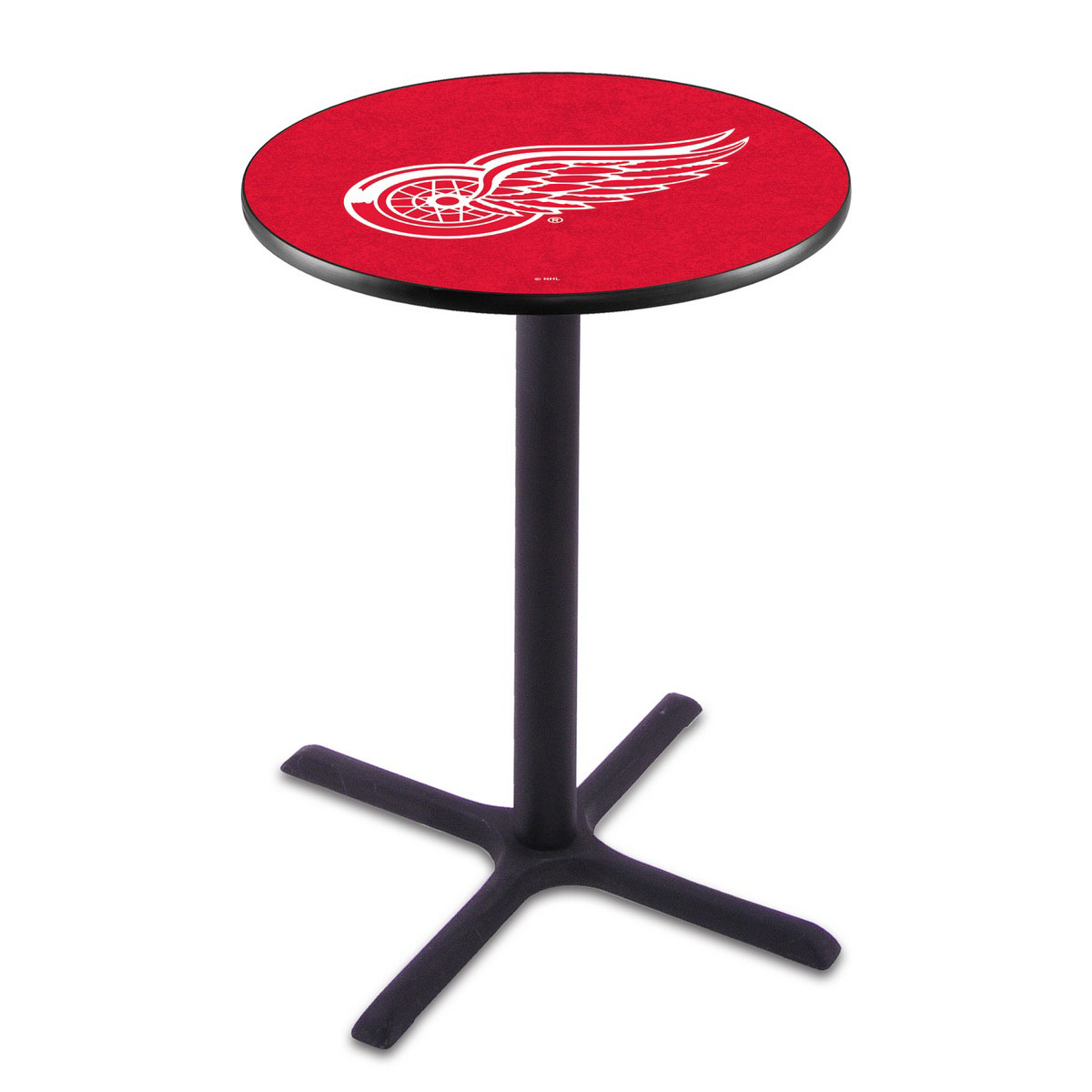 Superb Detroit Wings Wrinkle Pub Table Product Photo