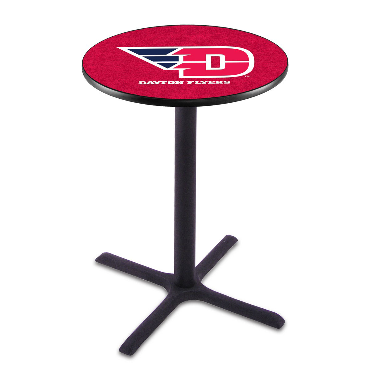 Search University Dayton Wrinkle Pub Table Product Photo