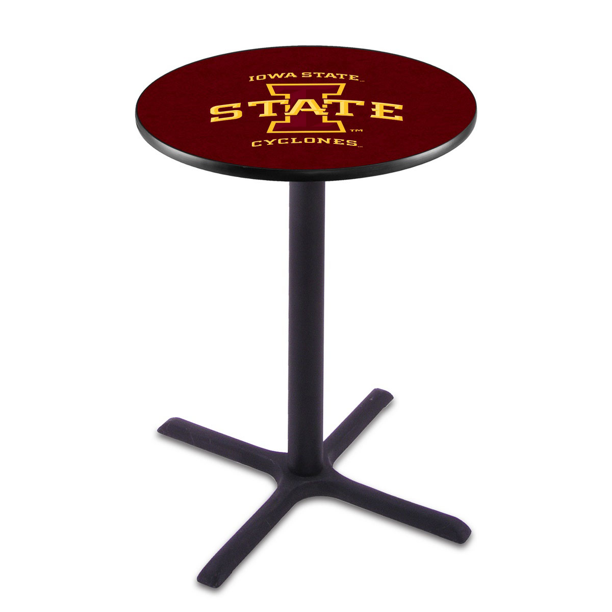 Best-selling Iowa State Wrinkle Pub Table Product Photo