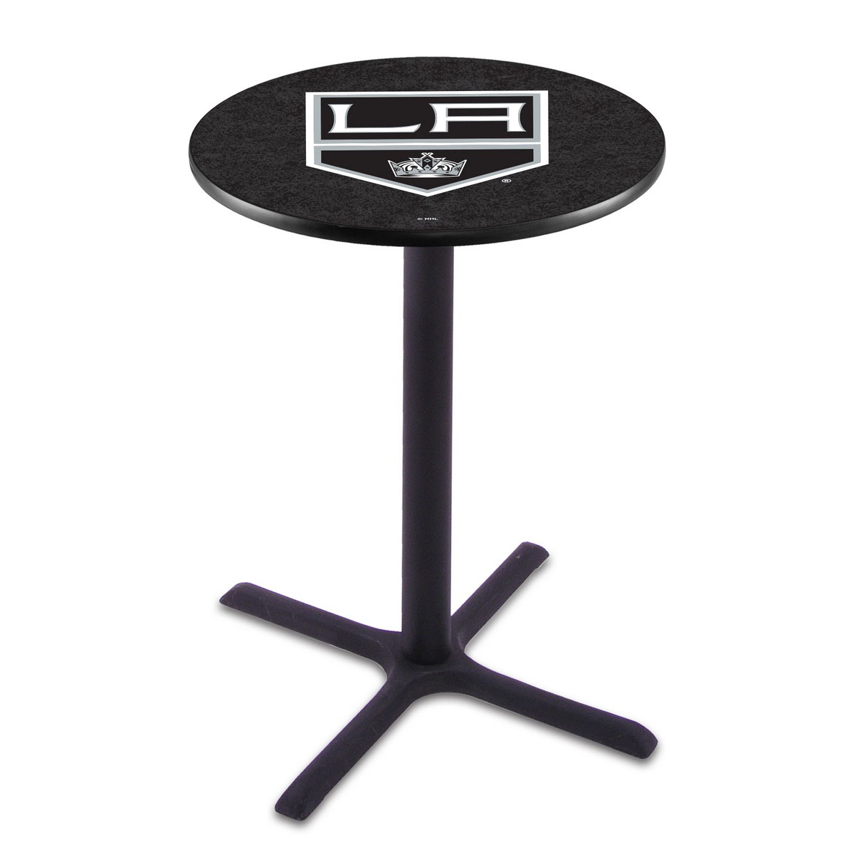 One of a kind Los Angeles Kings Wrinkle Pub Table Product Photo