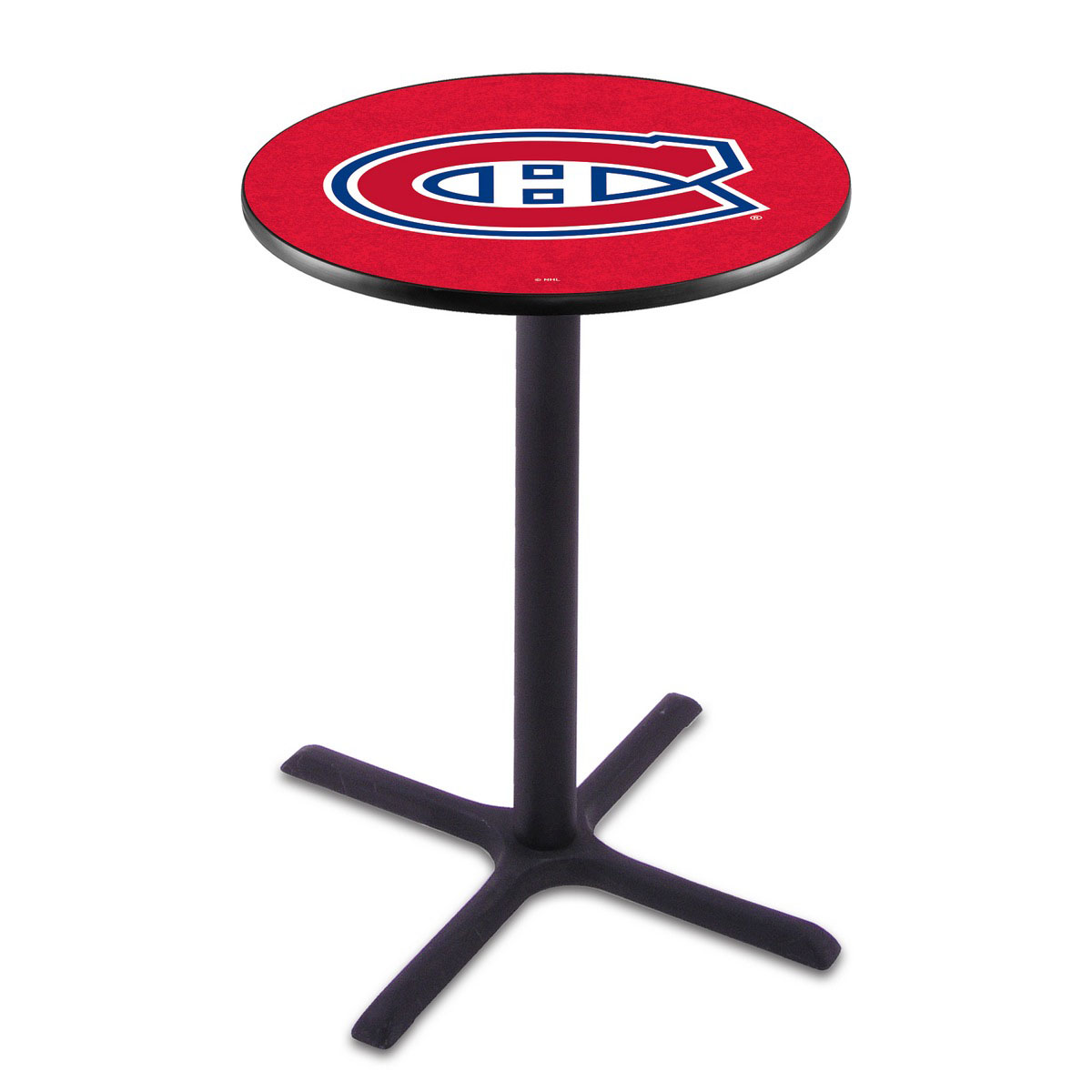 Search Montreal Canadiens Wrinkle Pub Table Product Photo