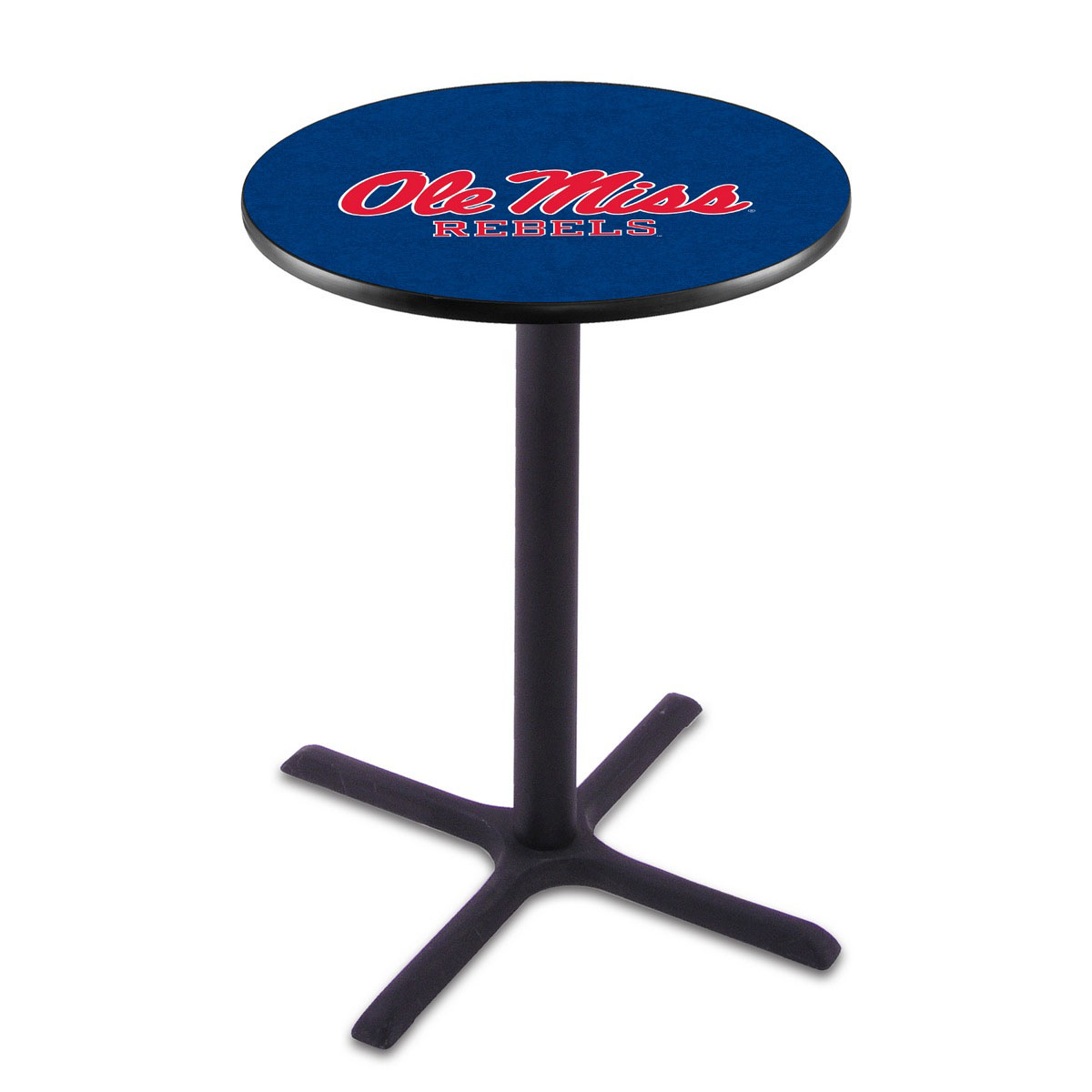 Impressive Ole Miss Wrinkle Pub Table Product Photo
