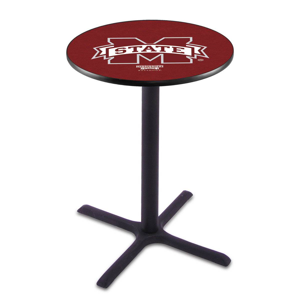 Buy Mississippi State Wrinkle Pub Table Product Photo