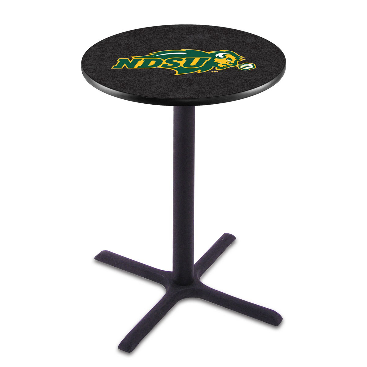 Unique North Dakota State Wrinkle Pub Table Product Photo