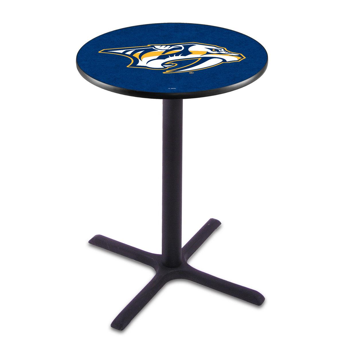 Select Nashville Predators Wrinkle Pub Table Product Photo