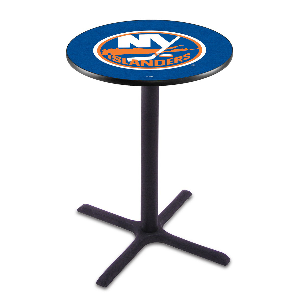 Information about New York Islanders Wrinkle Pub Table Product Photo