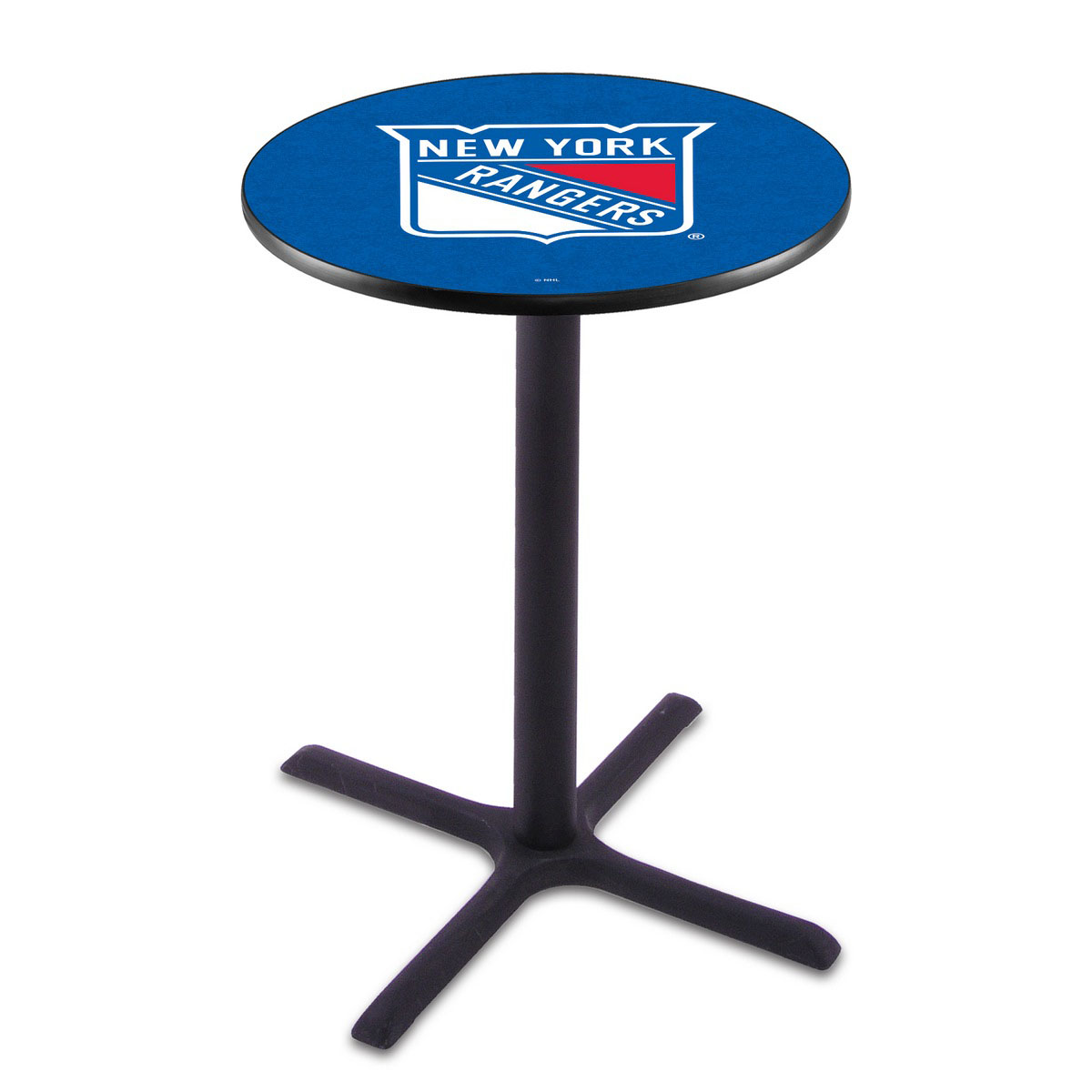 Info about New York Rangers Wrinkle Pub Table Product Photo