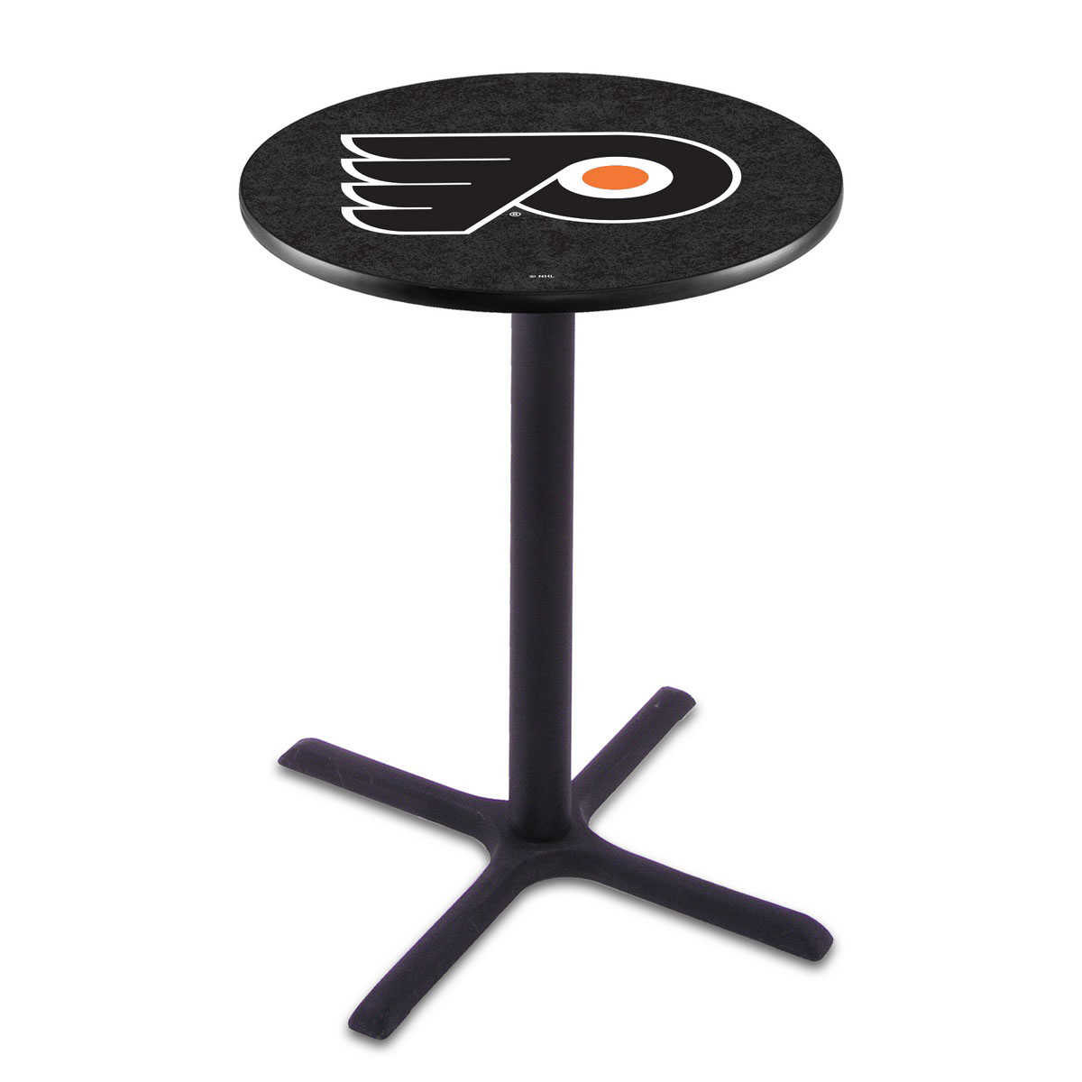 Philadelphia Flyers Wrinkle Pub Table Background
