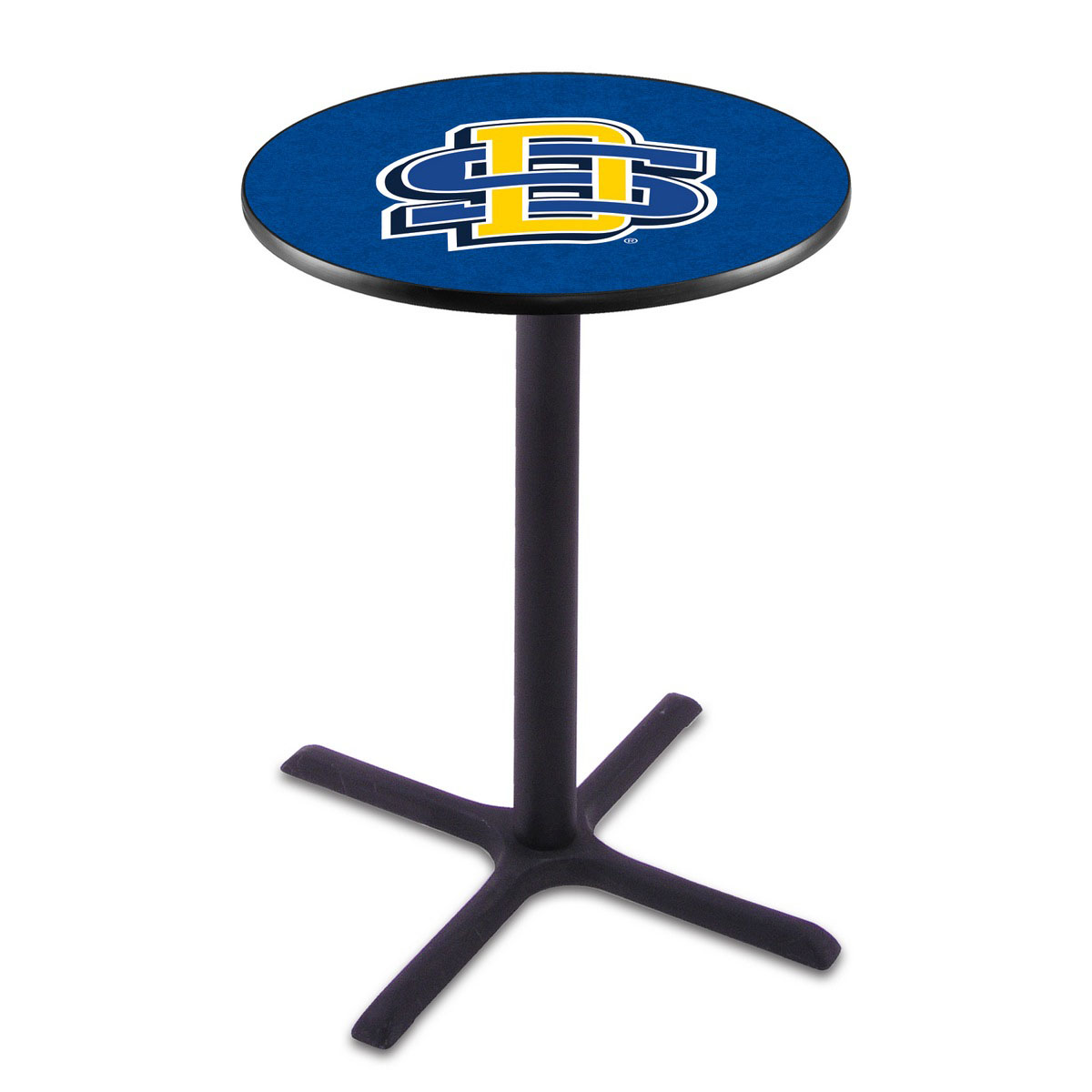 Info about South Dakota State Black Wrinkle Pub Table Product Photo