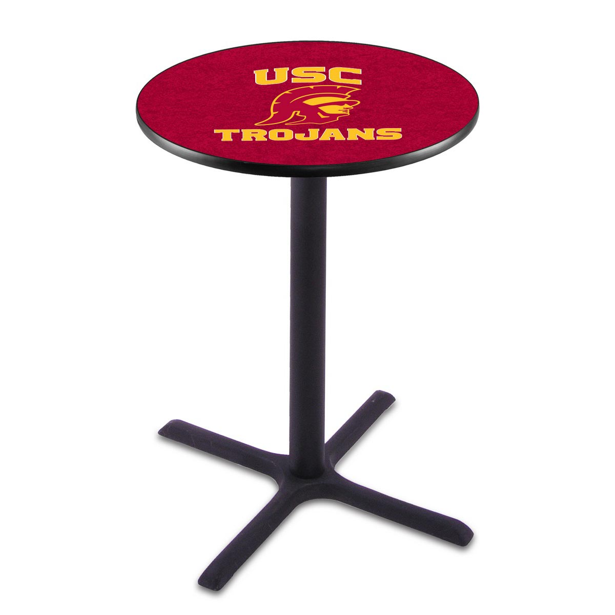 View Usc Trojans Wrinkle Pub Table Product Photo