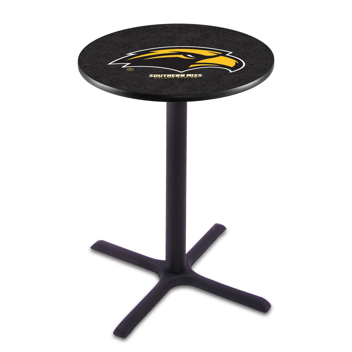 Check out the Southern Miss Wrinkle Pub Table Product Photo