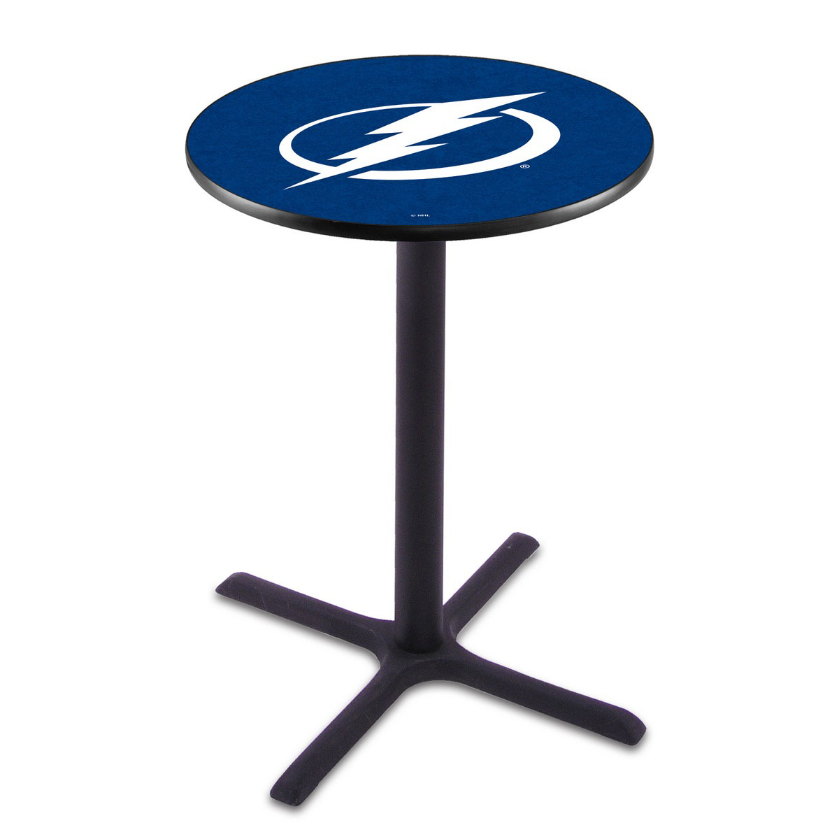 Excellent Tampa Bay Lightning Wrinkle Pub Table Product Photo