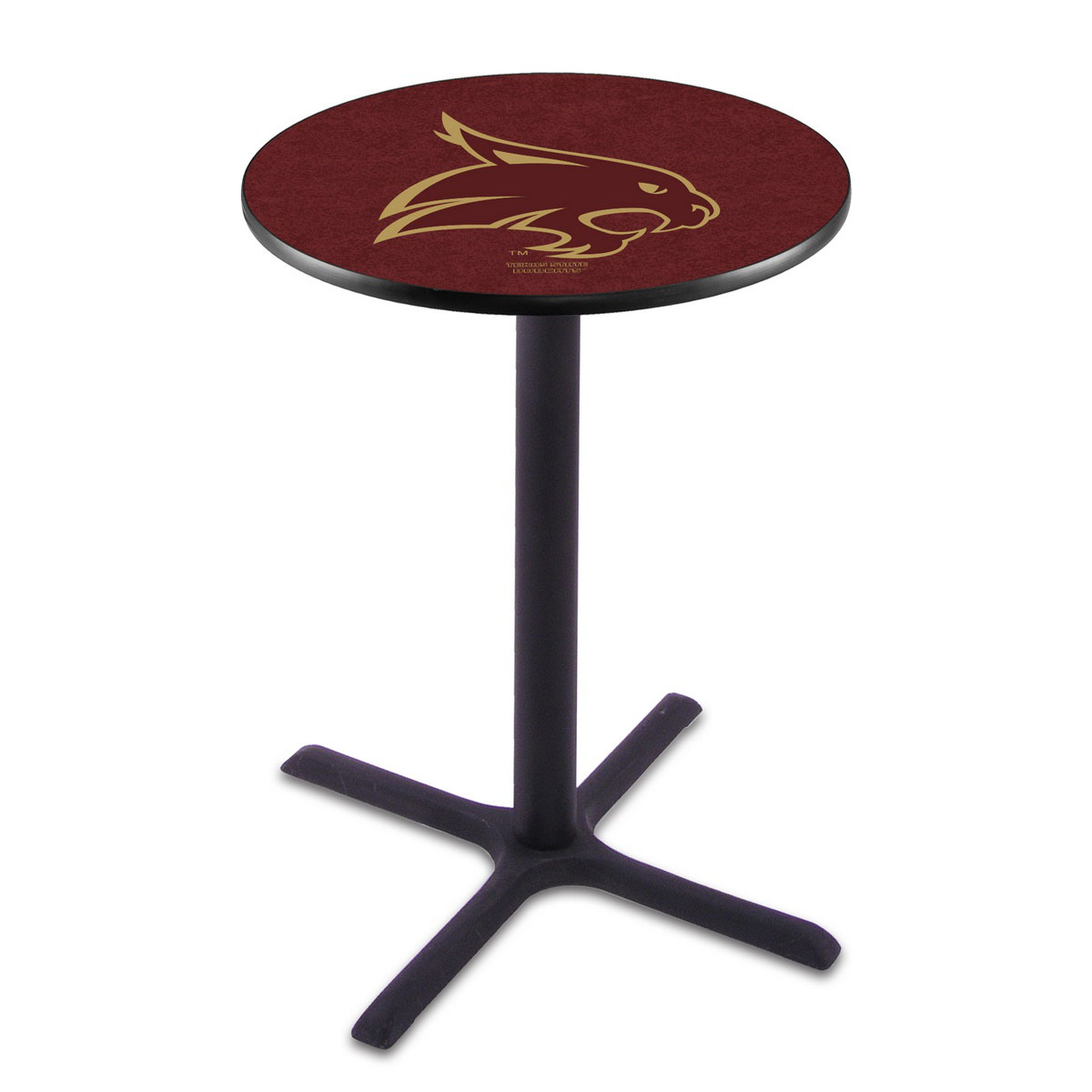Popular Texas State Wrinkle Pub Table Product Photo