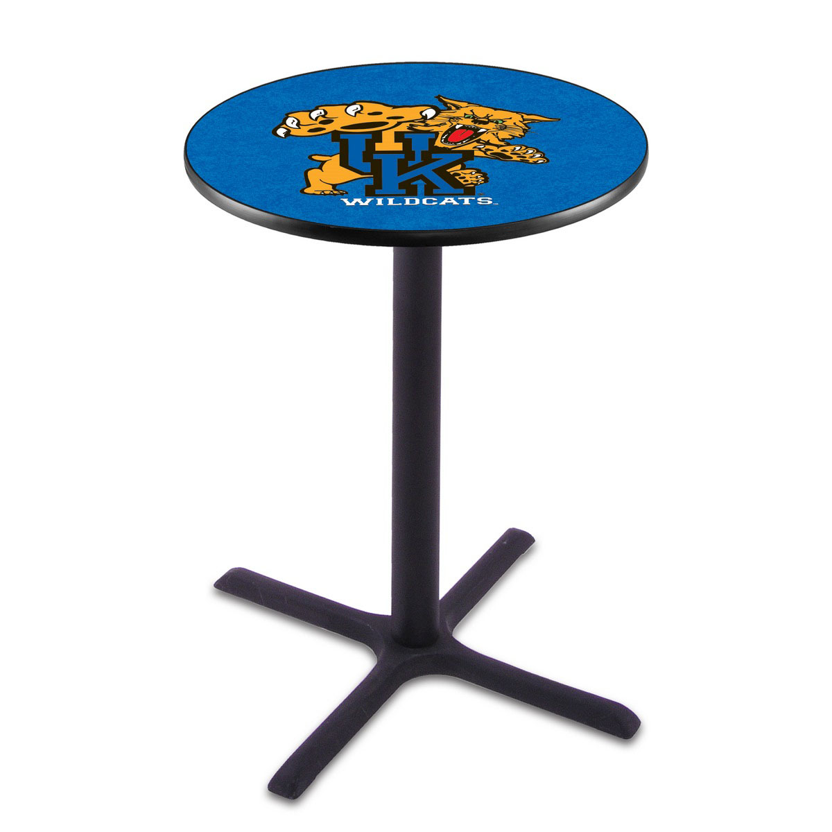 Stylish Kentucky Wildcat Wrinkle Pub Table Product Photo