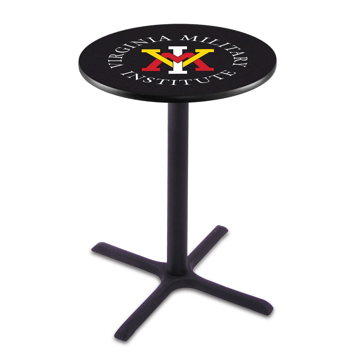 Information about Virginia Military Institute Wrinkle Pub Table Product Photo