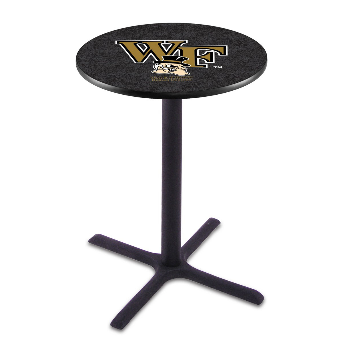 User friendly Wake Forest Wrinkle Pub Table Product Photo