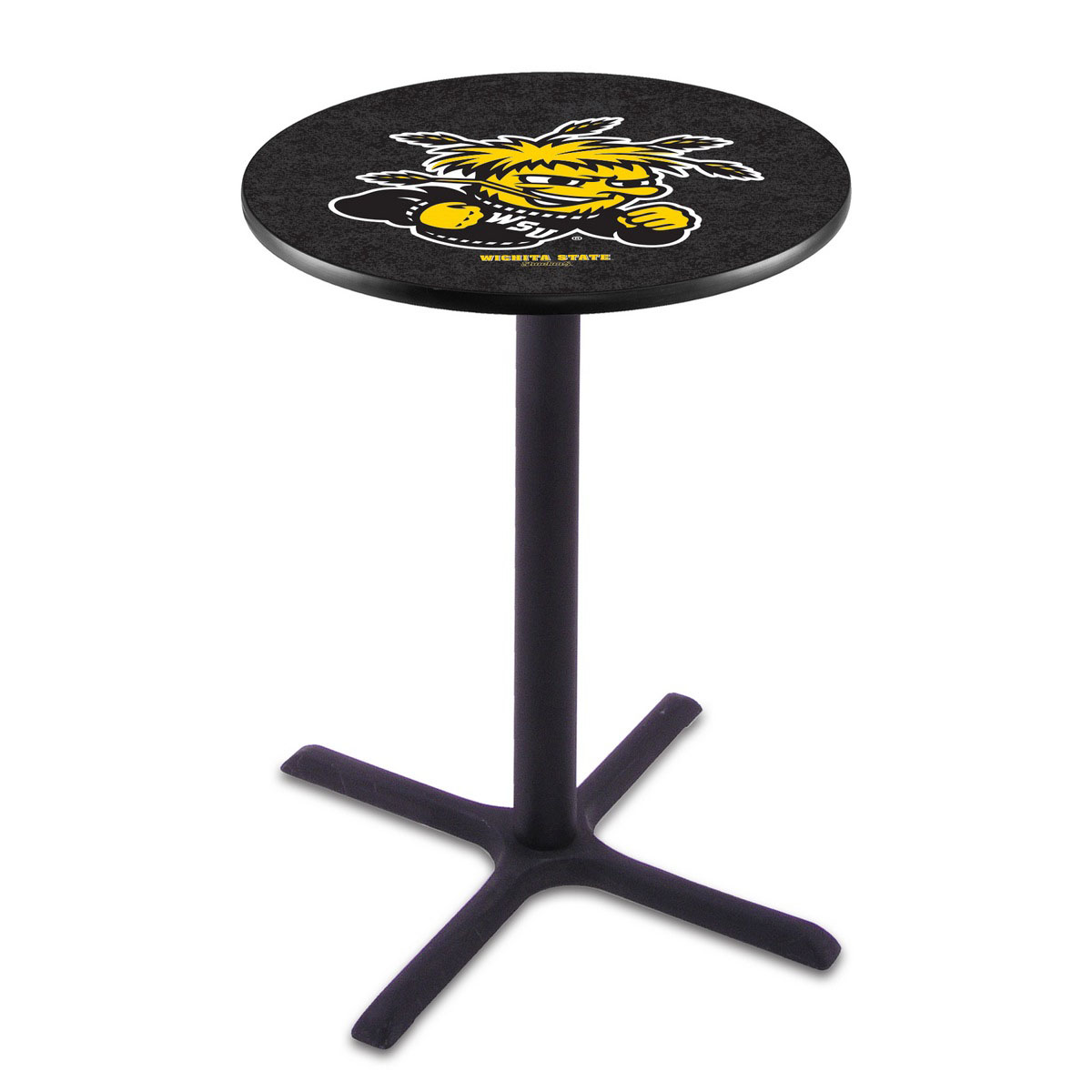Amazing Wichita State Wrinkle Pub Table Product Photo