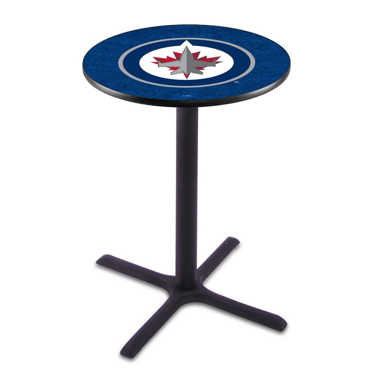 Exquisite Winnipeg Jets Wrinkle Pub Table Product Photo