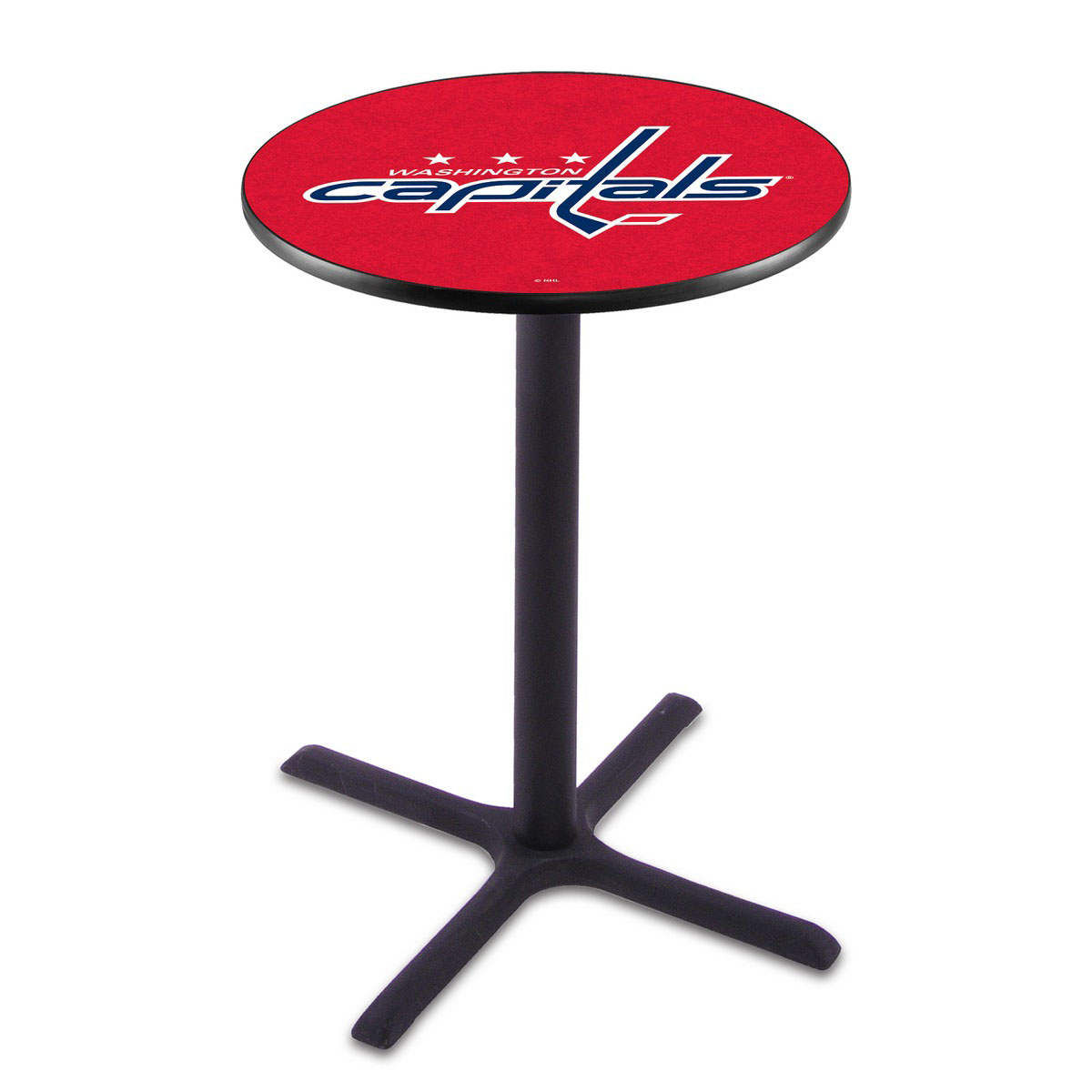 Ultimate Washington Capitals Wrinkle Pub Table Product Photo