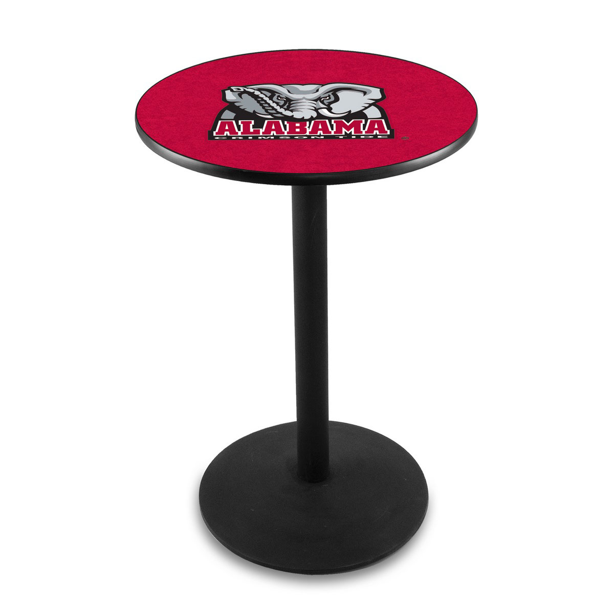 Choose University Alabama Elephant Logo Pub Bar Table Round Stand Product Photo