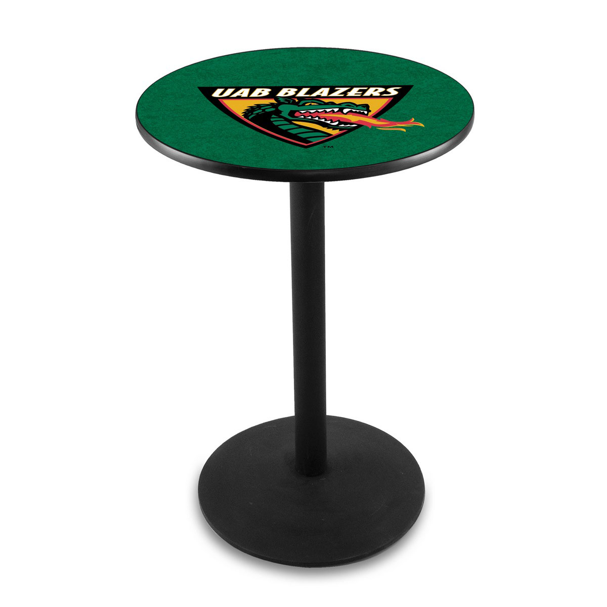 Order University Alabama At Birmingham Logo Pub Bar Table Round Stand Product Photo
