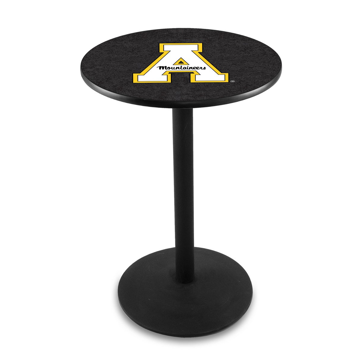 One of a kind Appalachian State University Logo Pub Bar Table Round Stand Product Photo
