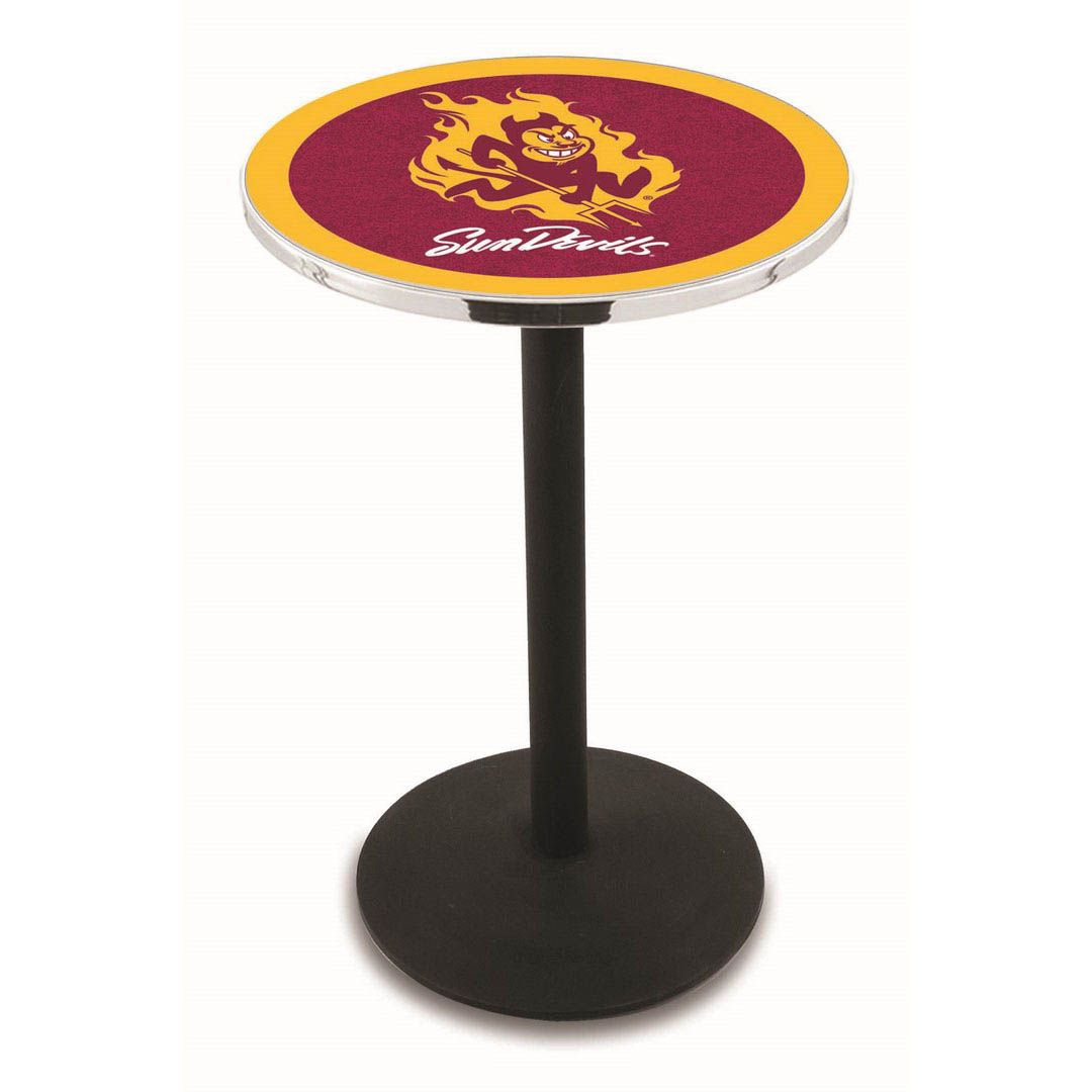 Ultimate Arizona State University Logo Pub Bar Table Round Stand Product Photo
