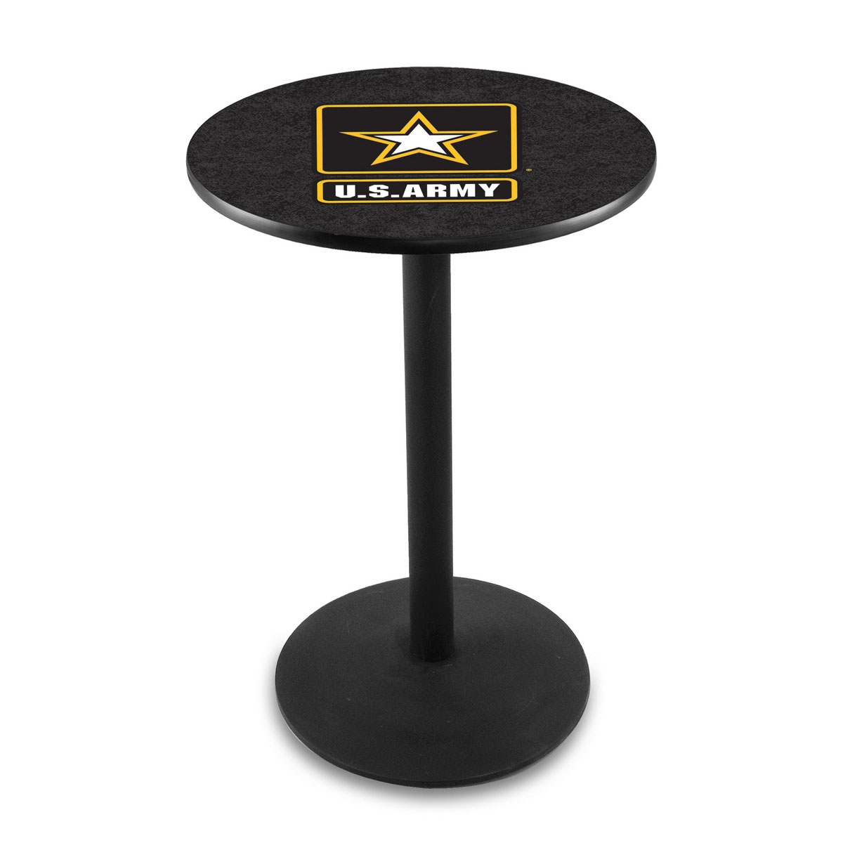 Longstanding United States Army Logo Pub Bar Table Round Stand Product Photo