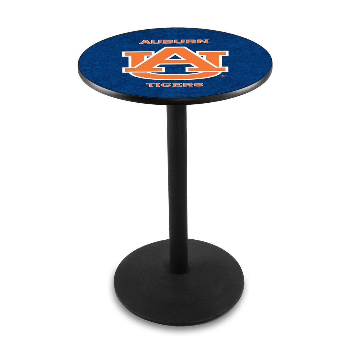Learn more about Auburn University Logo Pub Bar Table Round Stand Product Photo