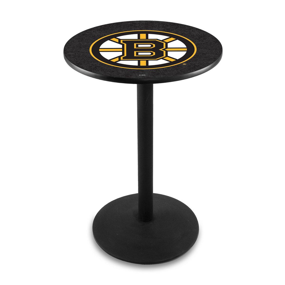 Stunning Boston Bruins Logo Pub Bar Table Round Stand Product Photo