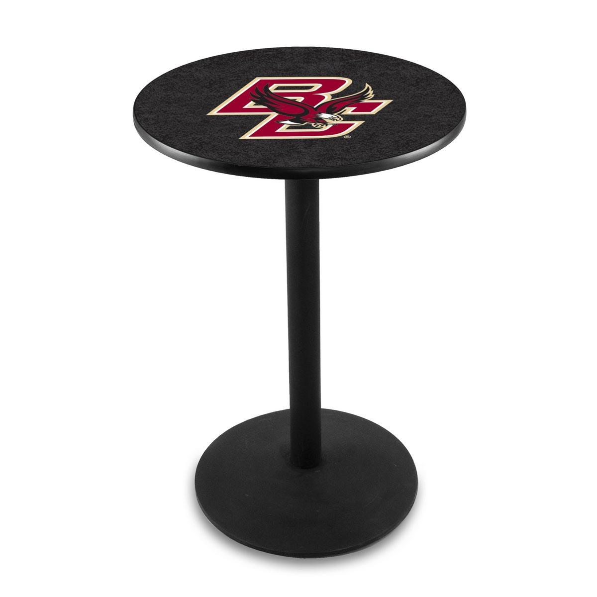 Amazing Boston College Logo Pub Bar Table Round Stand Product Photo
