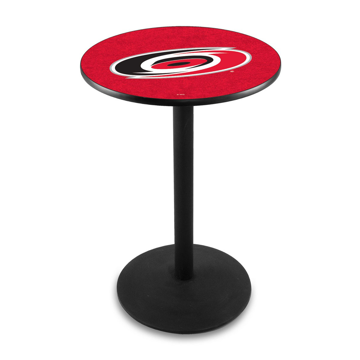 Lovable Carolina Hurricanes Logo Pub Bar Table Round Stand Product Photo