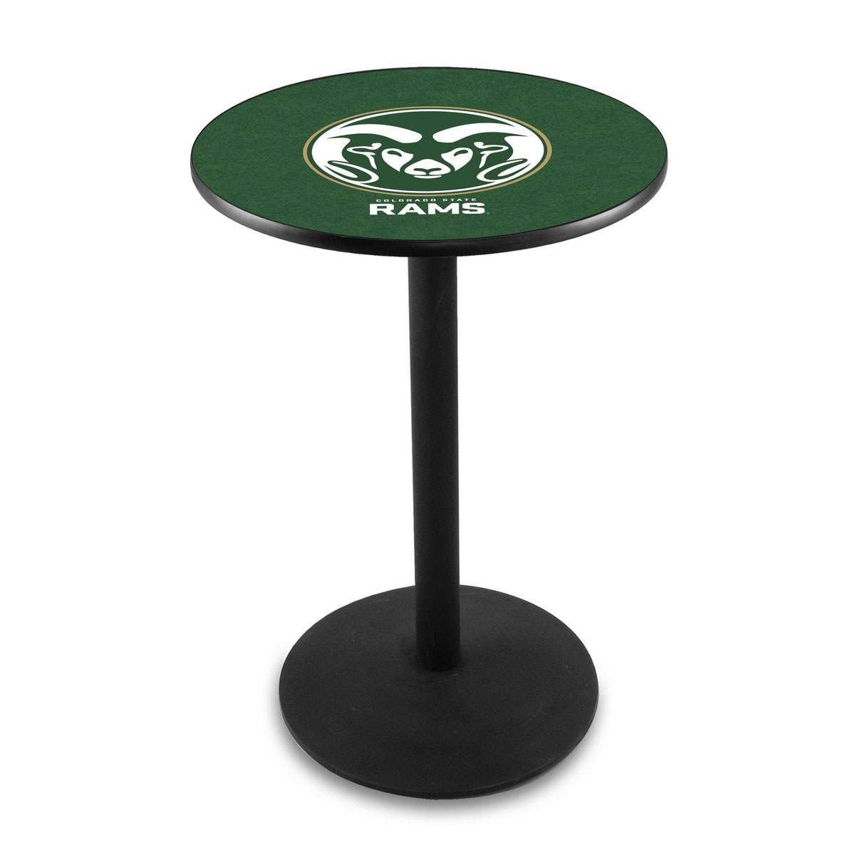 Impressive Colorado State University Logo Pub Bar Table Round Stand Product Photo