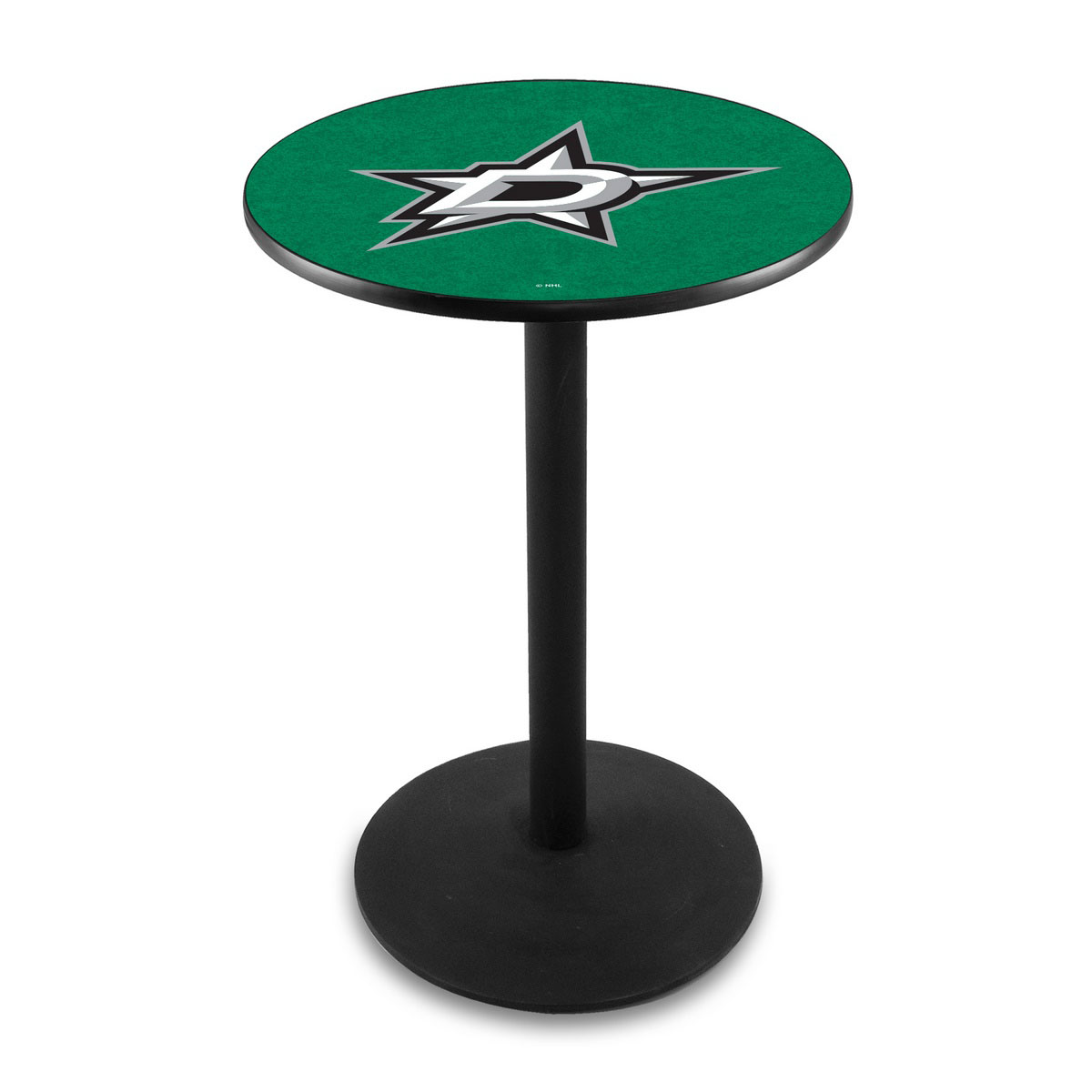 Remarkable Dallas Stars Logo Pub Bar Table Round Stand Product Photo
