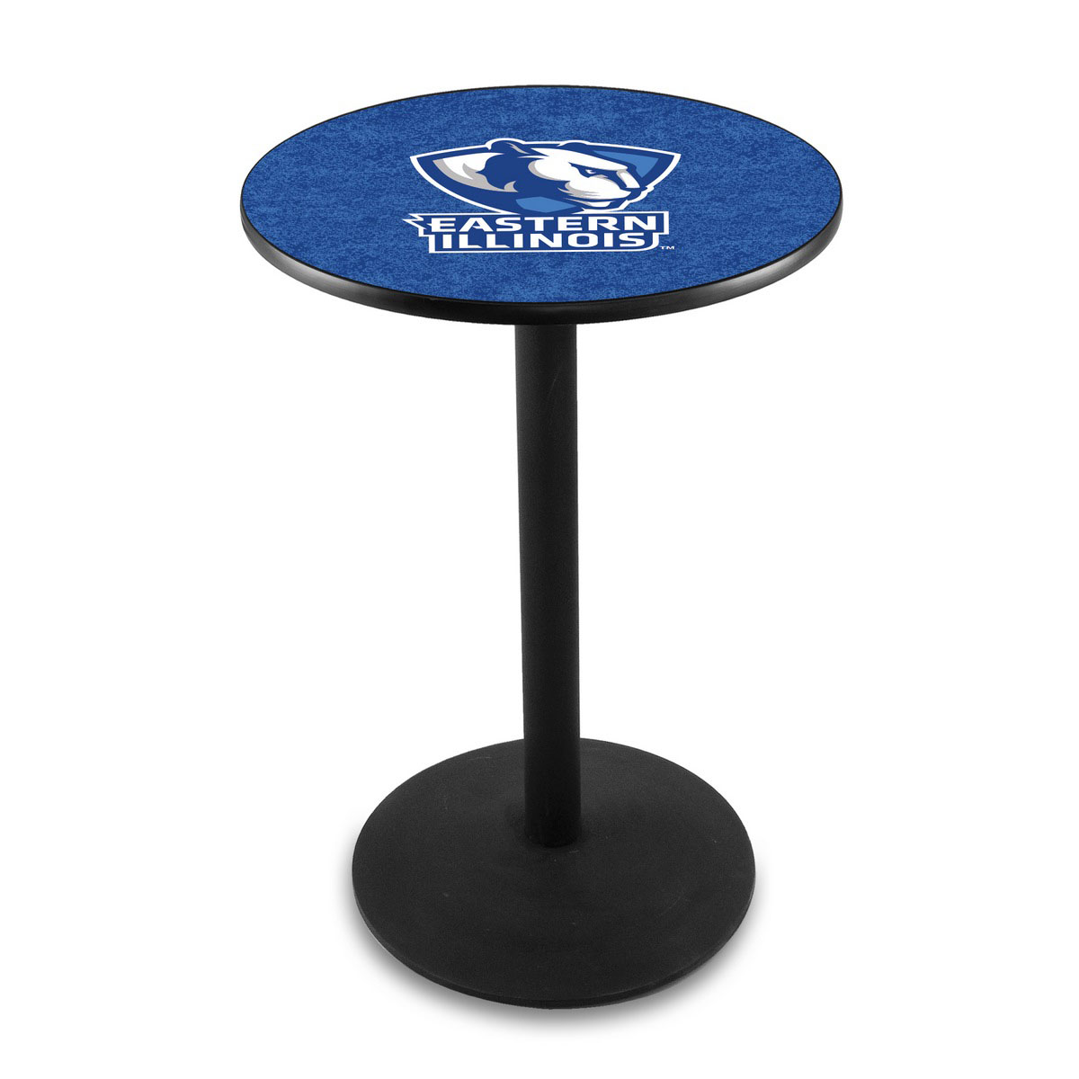 Outstanding Eastern Illinois University Logo Pub Bar Table Round Stand Product Photo