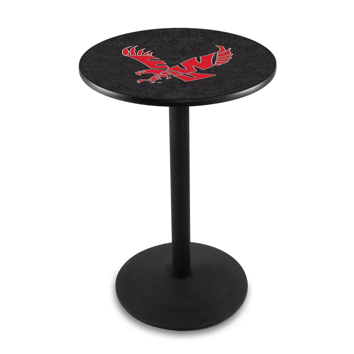 Cheap Eastern Washington University Logo Pub Bar Table Round Stand Product Photo
