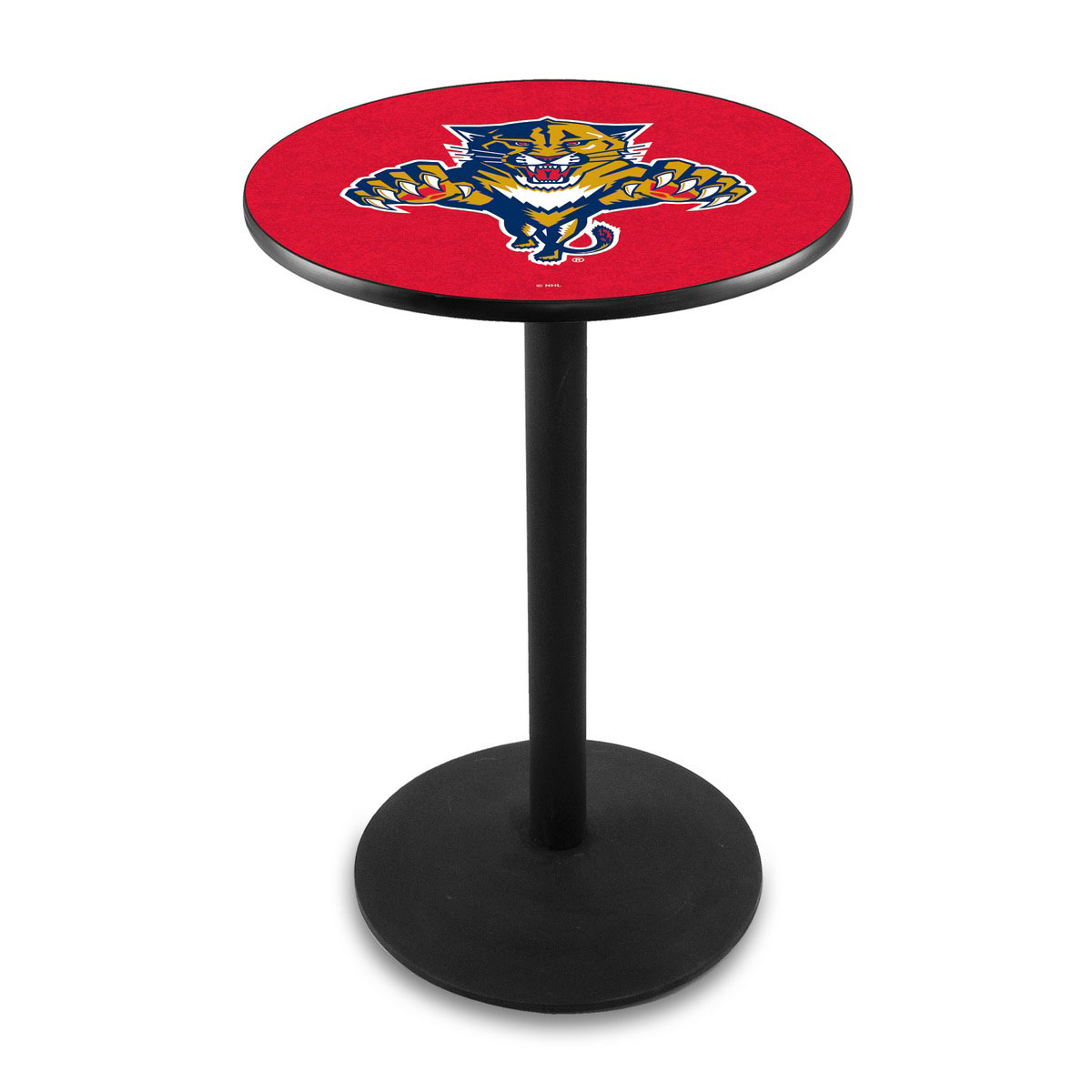 Valuable Florida Panthers Logo Pub Bar Table Round Stand Product Photo