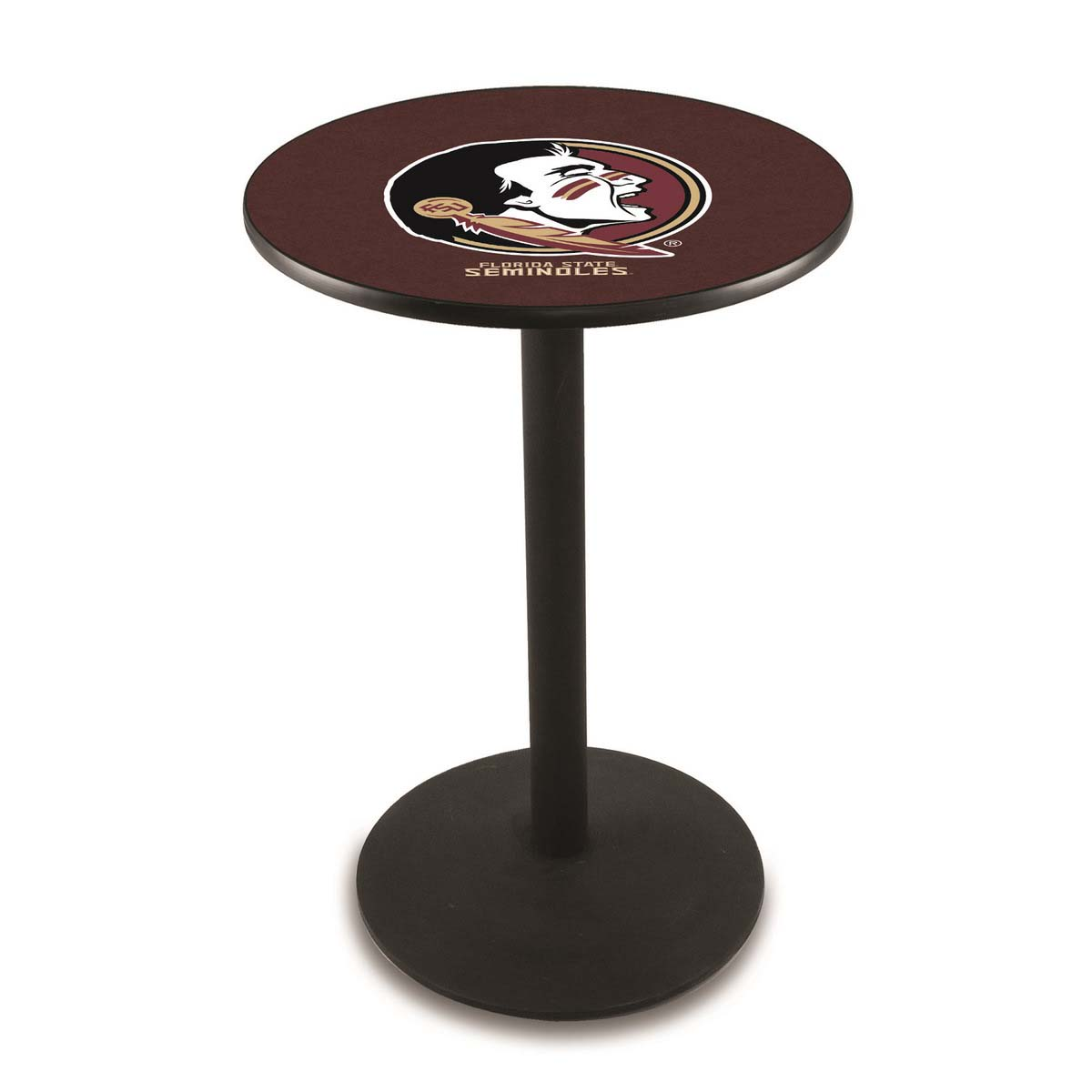 Popular Florida State Head Logo Pub Bar Table Round Stand Product Photo